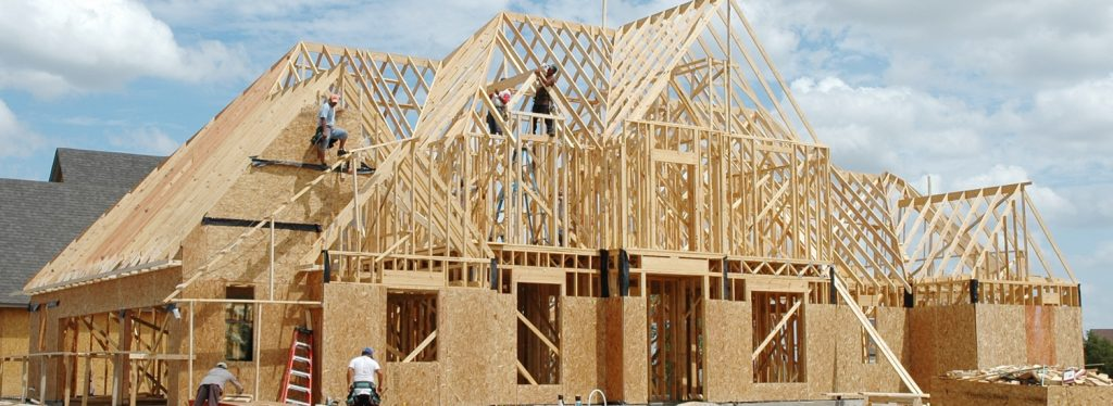 wood frame casa