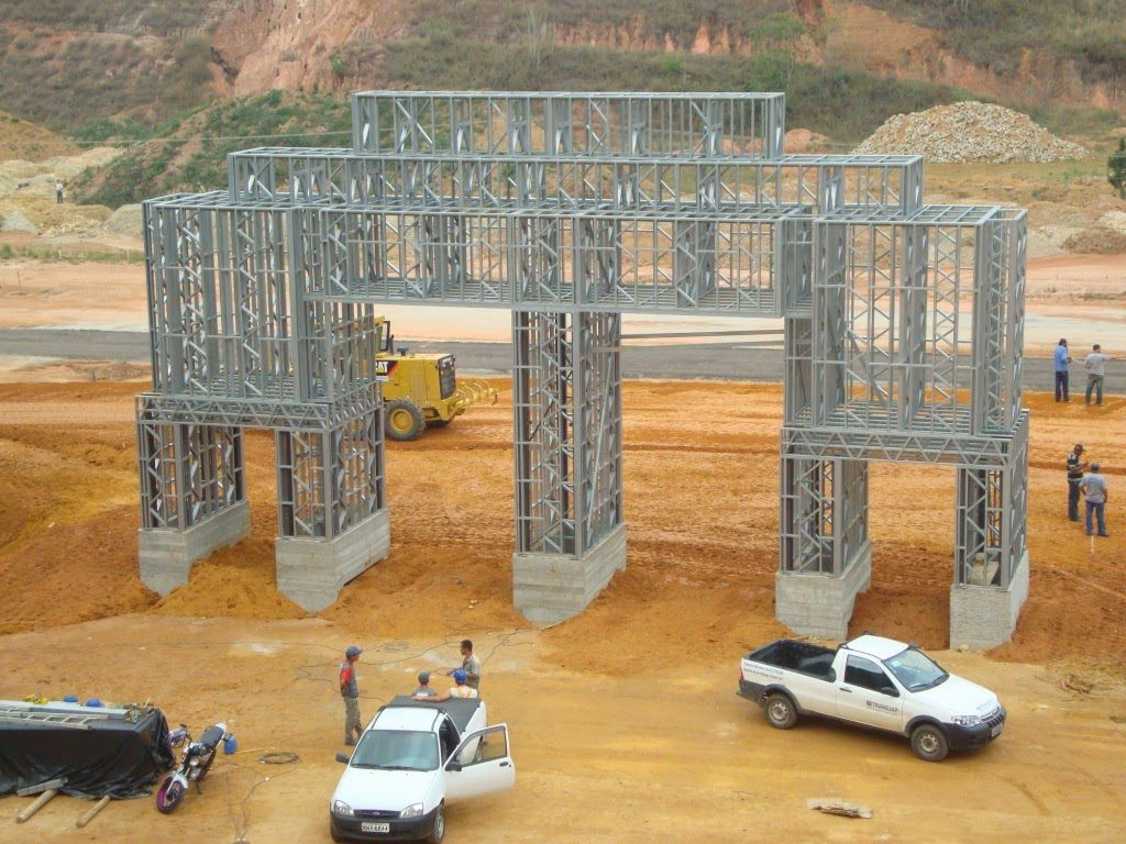 steel frame estrutura