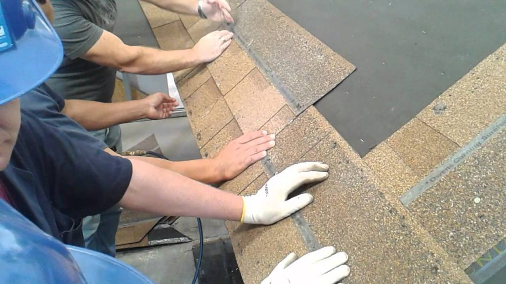 instalando telha shingle