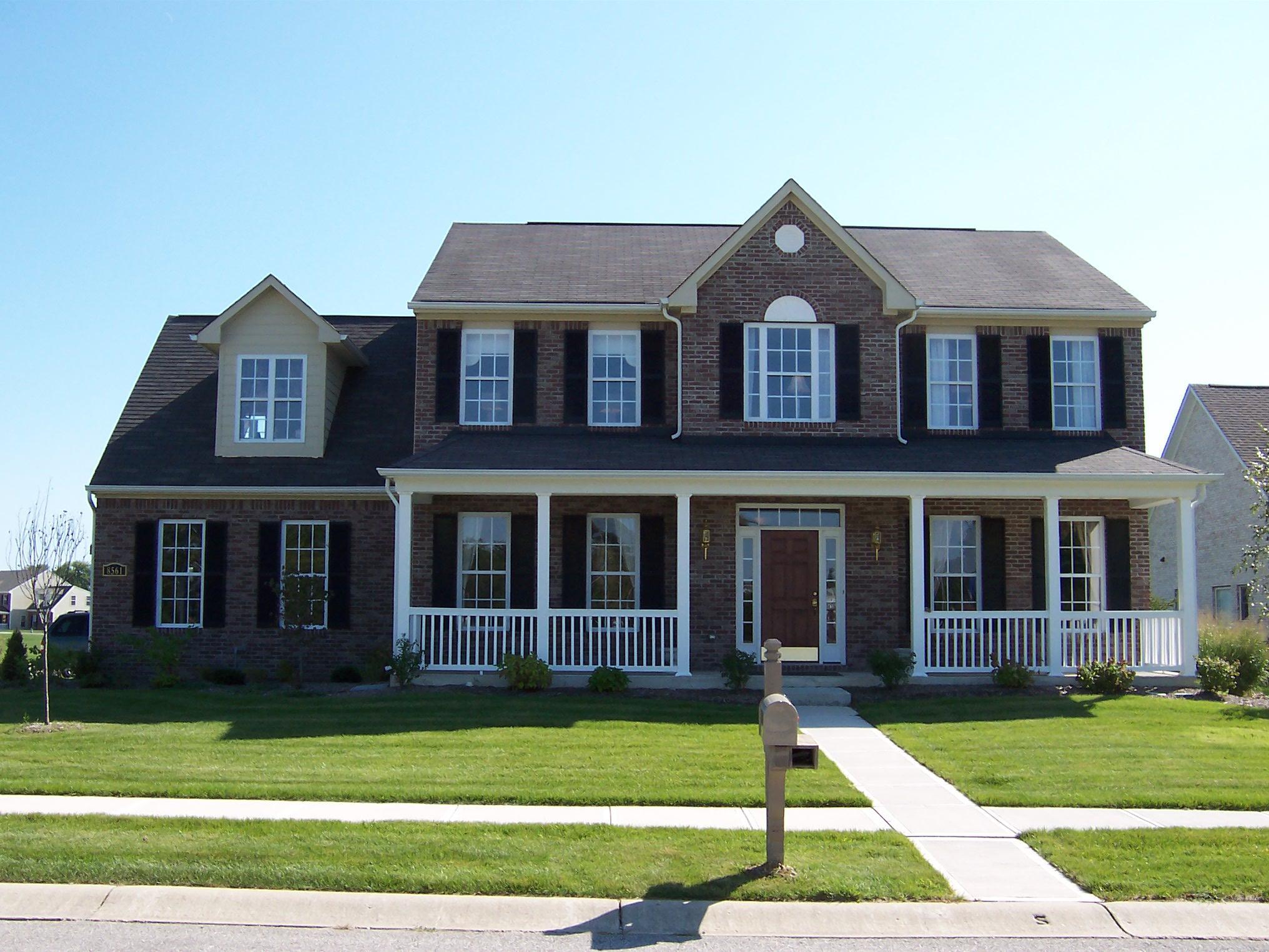 Casa americana revestimento o blog do sistema light for Modelos de casas americanas