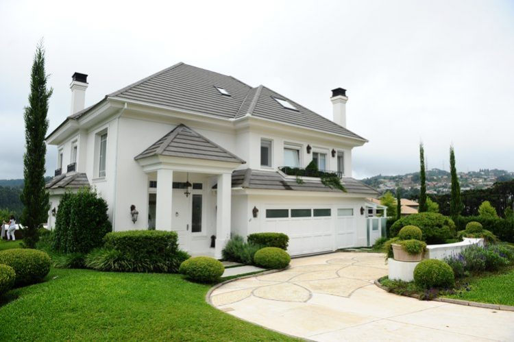 Arquitetura de casas americanas figura casa stunning - Casas americanas interiores ...