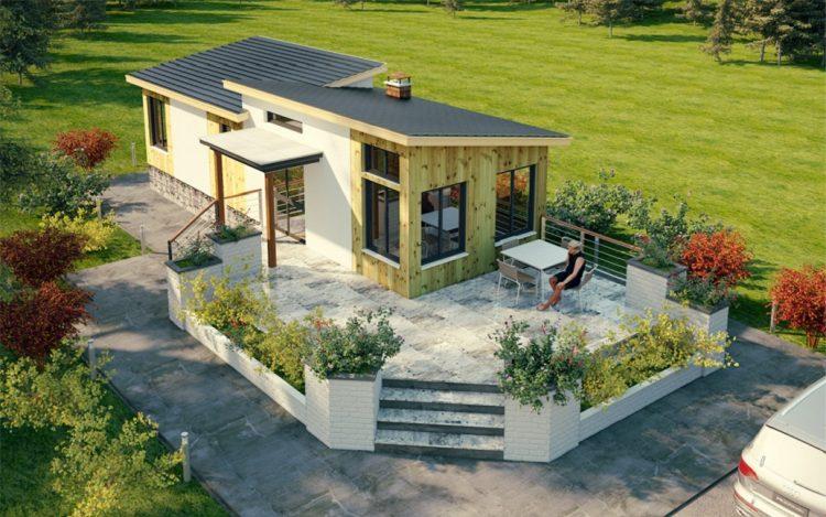 construção sustentável com steel frame