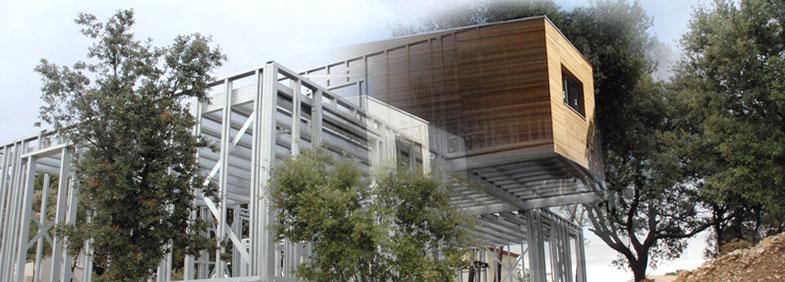 construindo sustentável com steel frame