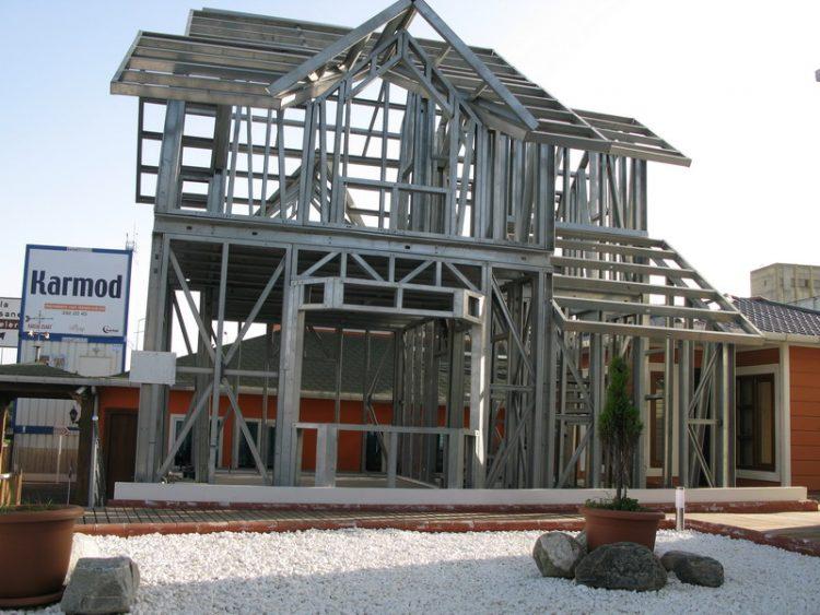 estrutura steel frame casa