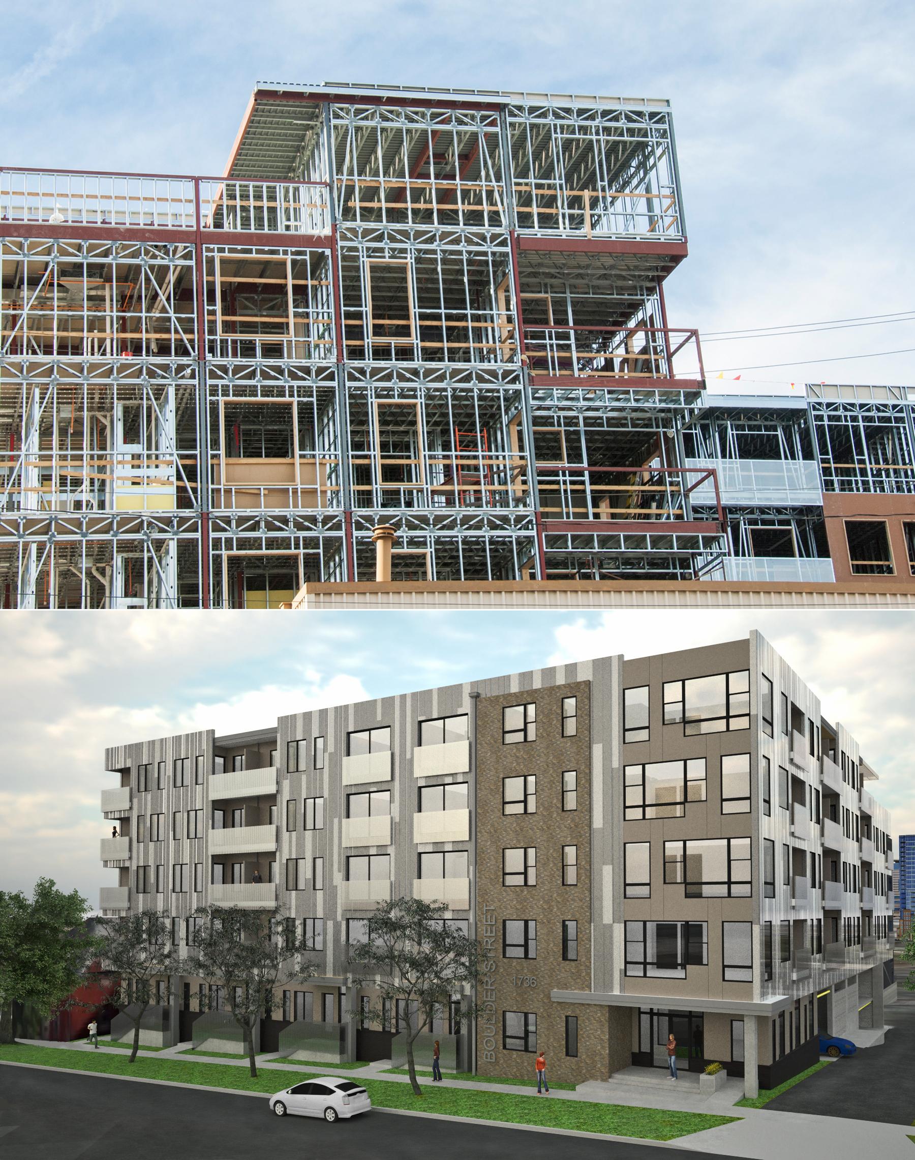 steel frame estrutura obra