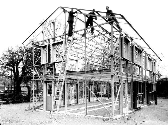 steel frame chegou no brasil