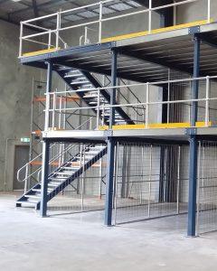 Mezanino Steel Frame