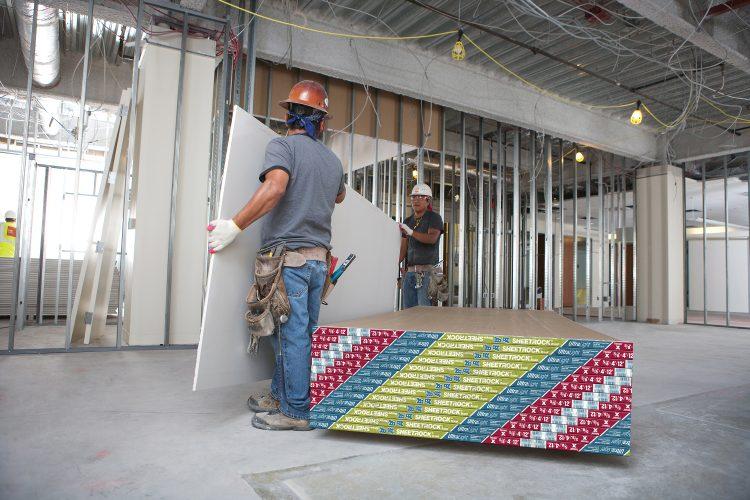 construção a seco na obra